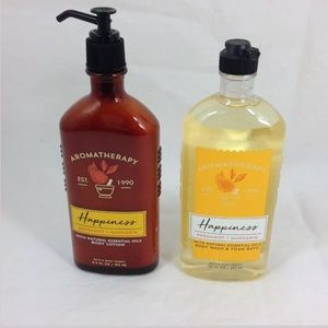 Bath Body Works Bergamot Mandarin Body Wash Lotion